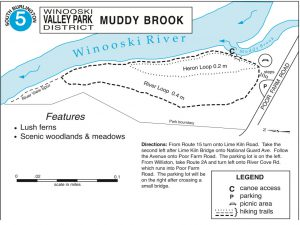 Muddy Brook Trail Map