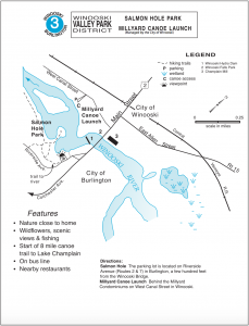 Salmon Hole Trail Map